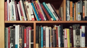 Books on my shelves