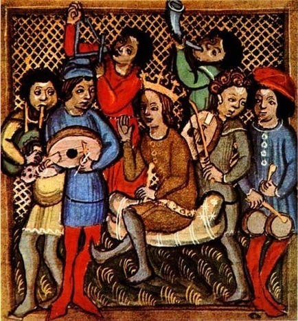 medieval-musicians