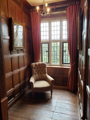 A small reading room in Jane Austen's brother's house