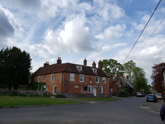 Jane Austen's Home near her brother's Chawton Manor